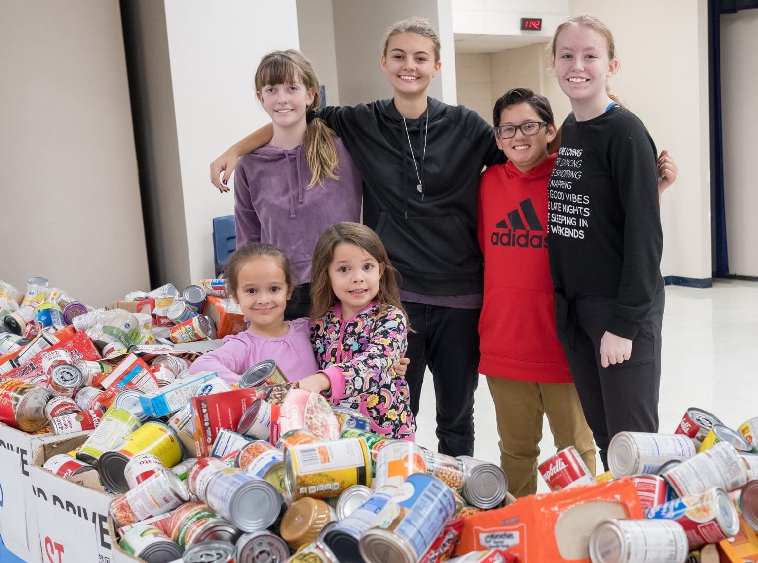 Donate St Mary's Food Bank