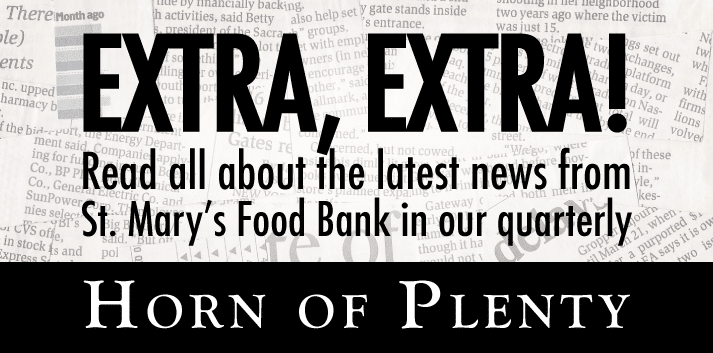 Horn of Plenty News Letter
