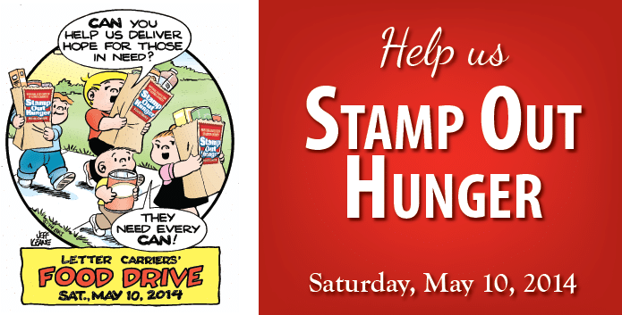 Stamp Out Hunger rotating image
