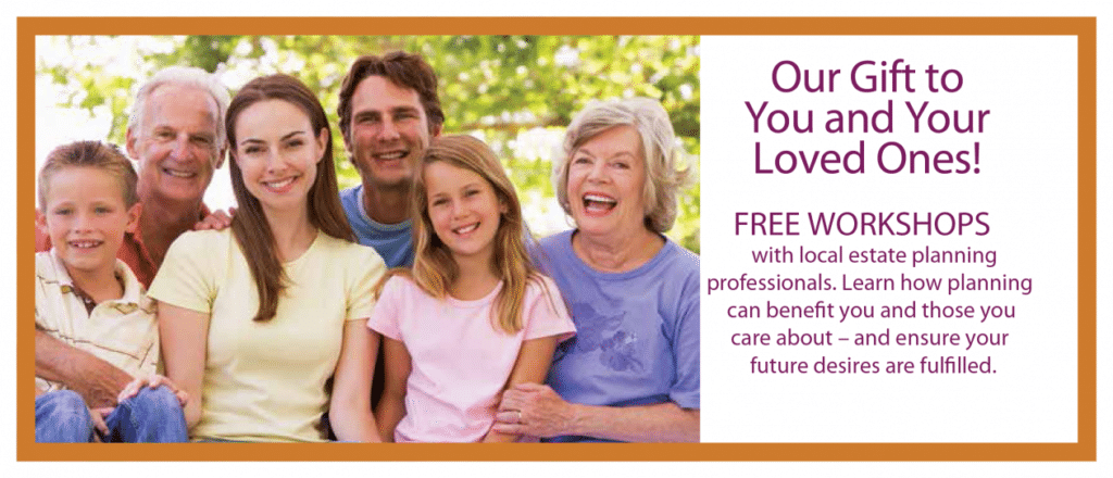 Free Estate Planning Workshops- Feb 24 & 25