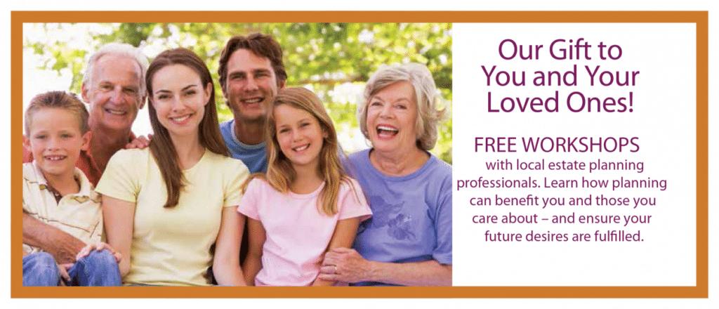 Free Estate Planning Workshops- Feb 24 & 25