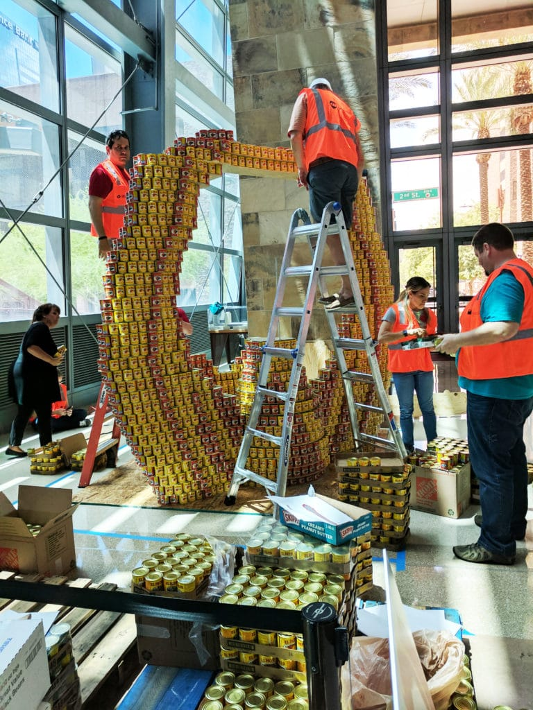 Phoenix Canstruction 2017 Recap 1