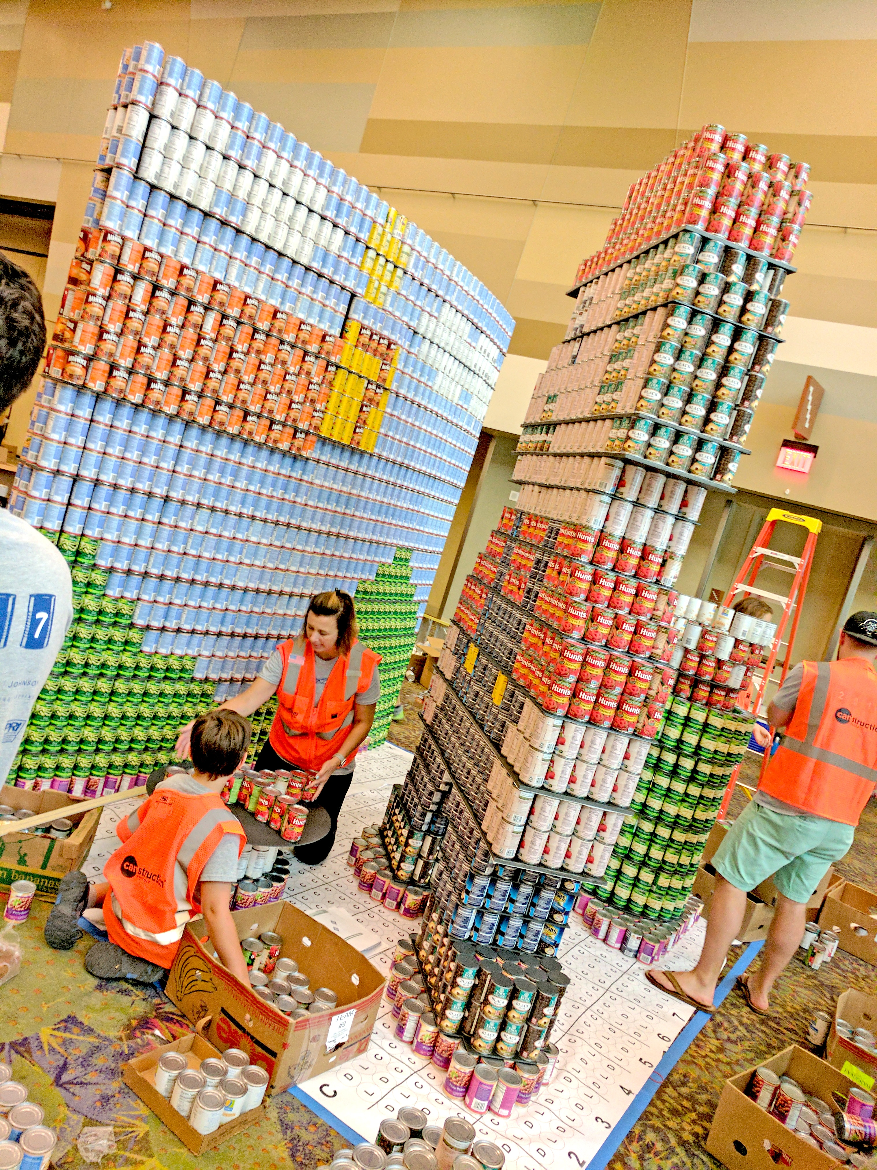 Phoenix Canstruction 2017 Recap