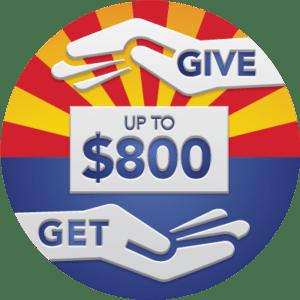 Arizona Charitable Tax Credit 2