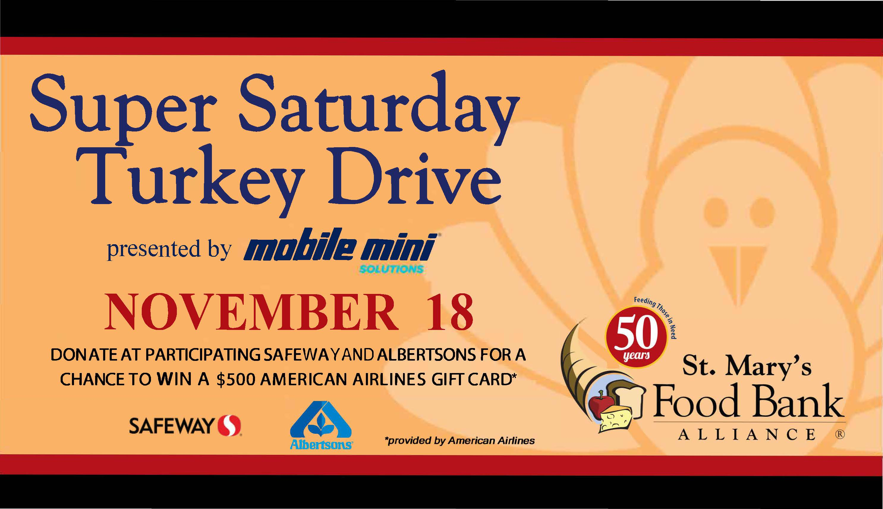 11th Annual Super Saturday Turkey Drive 4