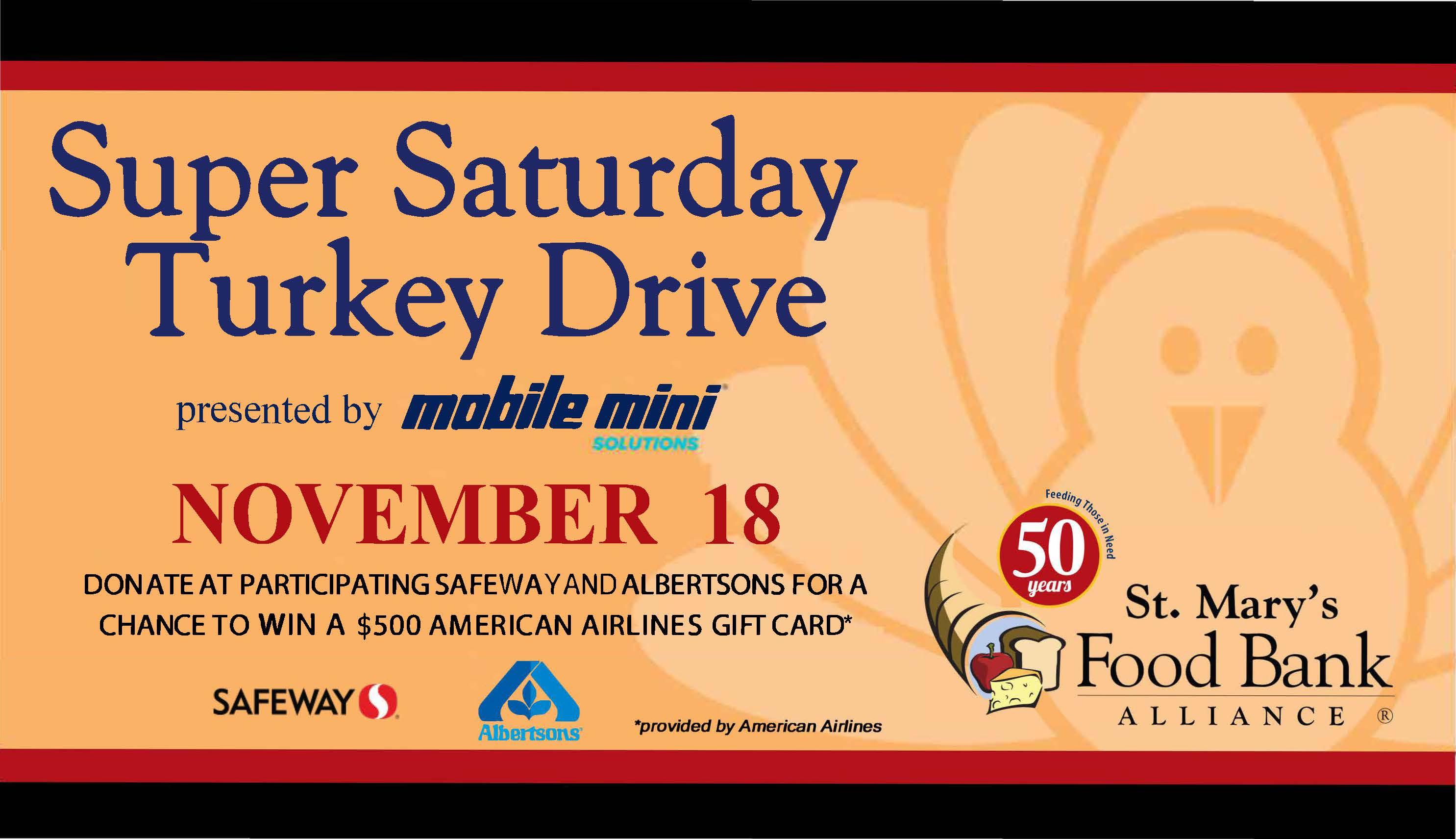 11th Annual Super Saturday Turkey Drive 4
