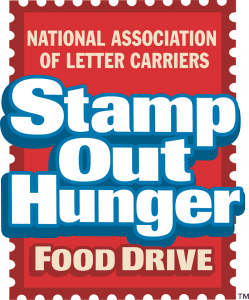 You Can Make A Difference! Stamp Out Hunger on May 12 2