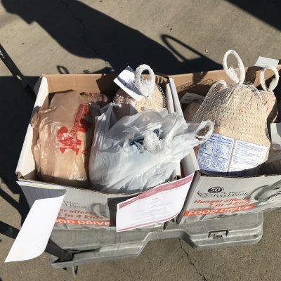 8 Turkeys Donated to St Marys Food Bank