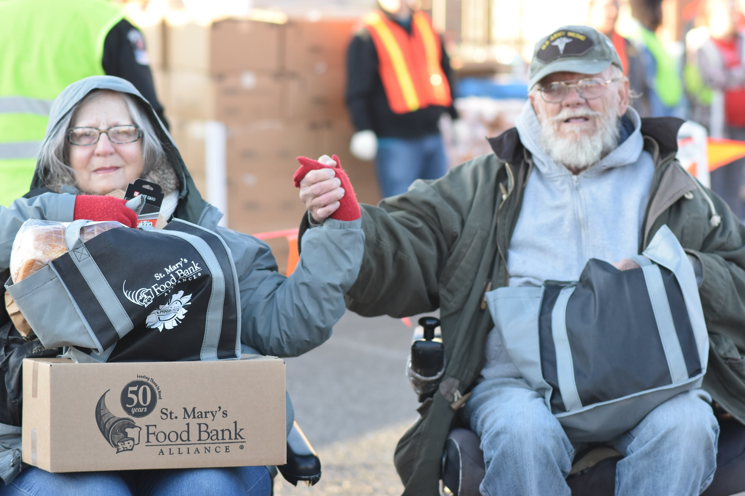 St Mary's Food Bank Get Help