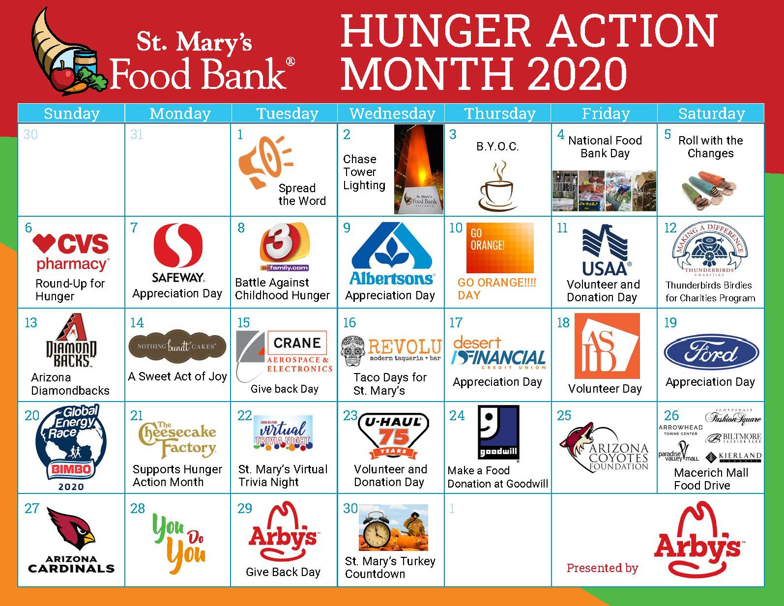 Hunger Action Month September 2020