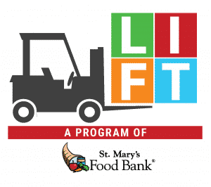 LIFT a program of St. Mary's Food Bank 2